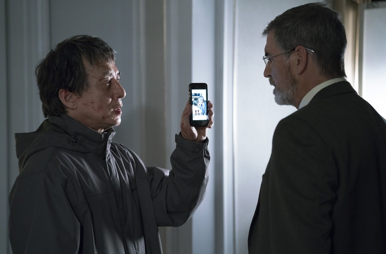 Jackie Chan and Pierce Brosnan in The Foreigner.