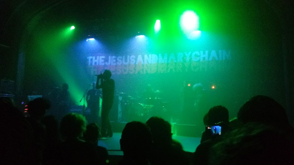 It's hazy up there when the Jesus and Mary Chain take the stage. - DAN NAILEN