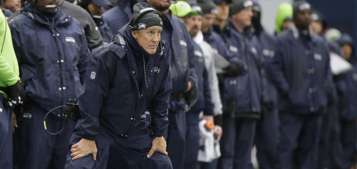 Yes, Seahawks kicker Blair Walsh missed three first-half field goals, but head coach Pete Carroll's poor clock management in the game's final minutes also played a major role in Seattle's ugly 17-14 home loss to Washington. - SEAHAWKS.COM