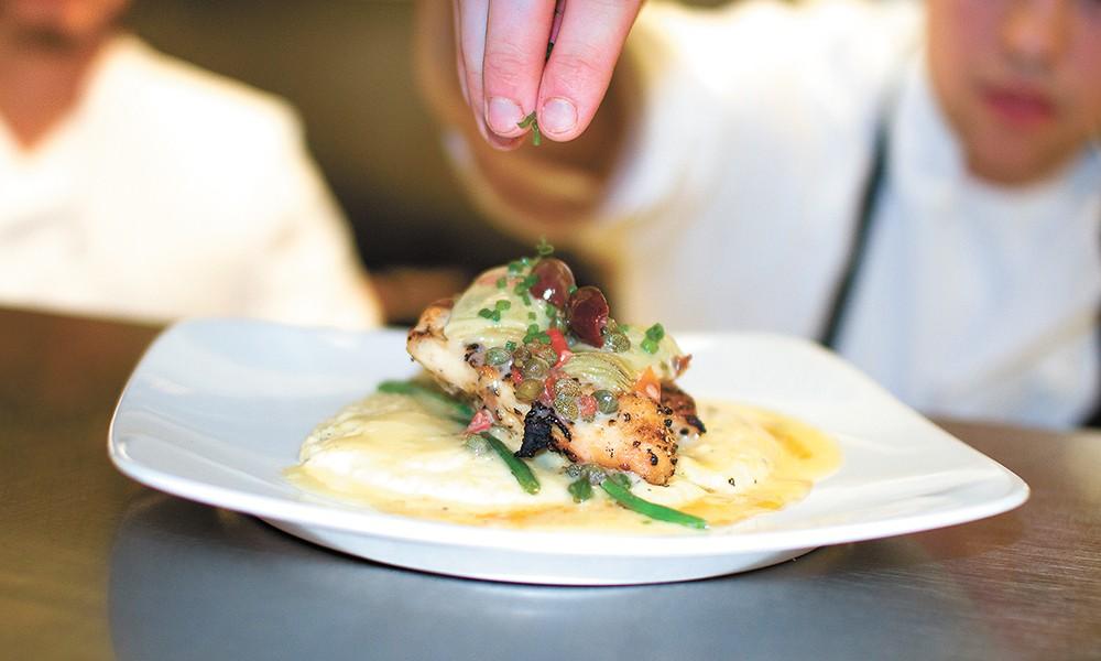 Martino Tuscan Grill serves up regional Italian fare in Coeur d'Alene's Riverstone development. - BRETT FONTANA