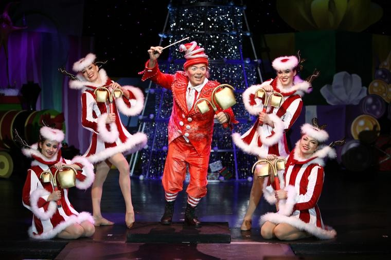 Cirque Dreams Holidaze swings through the INB Wednesday and Thursday.