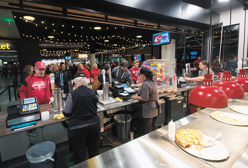 Spokane Arena Unveils New Restaurant Style Dining Options