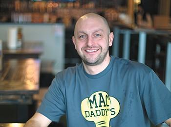 Mac Daddy's Nick Bokarica. - TESS FARNSWORTH