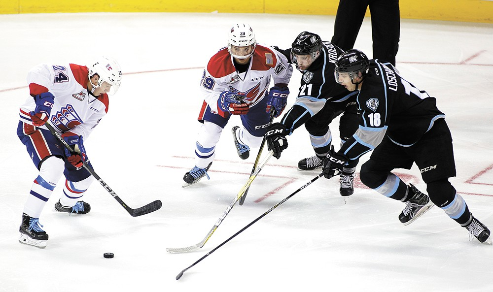 Catch the Chiefs at Spokane Arena Feb. 23 and 24.