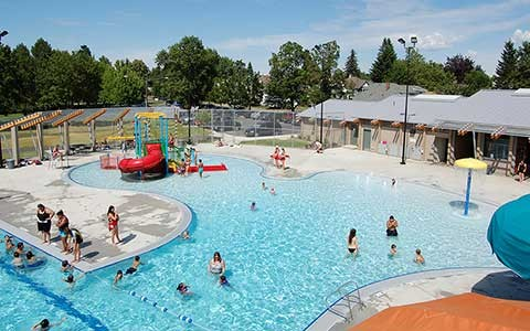 A.M. Cannon Aquatic Center in Spokane's West Central neighborhood. - CITY OF SPOKANE