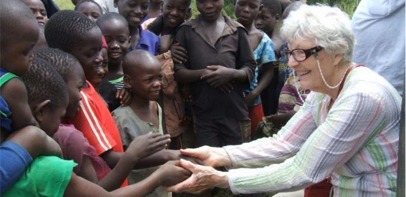 Ruth on a recent trip to Malawi.