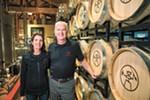 Mary and Rich Clemson founded Warrior Liquor last year.