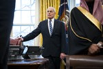 ohn Kelly, White House chief of staff, looks on as President Donald Trump meets with Crown Prince Mohammed bin Salman of Saudi Arabia, in the Oval Office of the White House, in Washington, March 20, 2018. Kelly is likely to leave his post in the next few days, ending a tumultuous 16-month tenure still among the longest for a senior aide to President Trump, two people with direct knowledge of the developments said on Dec. 7, 2018.