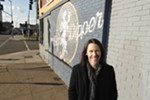 Myles Kennedy outside the Big Dipper, a place that inspired him to pursue original music years before he got to play there.
