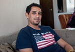 Assad Al-Sawaedi, sitting in his brother's house on Monday, says he loved his Old Navy shirt with the big American flag on it. But, for obvious reasons, he didn't feel all that safe wearing it in public in Iraq.