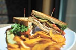 Fresh-made sandwiches are just one of Clark Fork's many offerings.