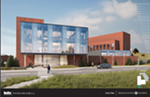 Washington State University is waiting on $23 million for phase 2 of its Global Animal Health building, shown in this rendering by Perkins+Will.
