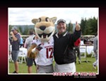 Does it get any more Wazzu (in a good way) than Butch the Cougar and Paul Sorensen?