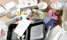A Food Services of America Spokane event attempted to produce as little waste as possible