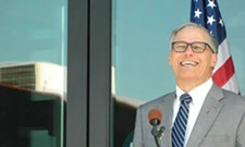 Inslee in Spokane, explosives sent to Obama and Clinton, and other headlines