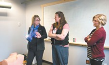Nurses who work with victims of sexual assault get rare hands-on training in Spokane