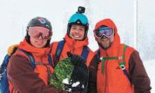 The serious responsibility <i>and</i> epic joys of a backcountry ski guide