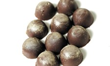 These spiked salted caramel chocolates are easier than you think