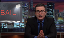 John Oliver lets loose on the bail system