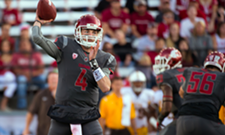 The Cougars won last night, but may have lost Luke Falk