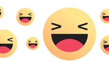 The Laughing Face on Facebook is an A-hole