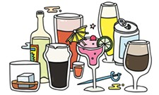 Different kinds of alcohol don't make you different kinds of drunk, but there are different drunks