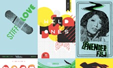 This year, Volume showcases design and music with its poster show
