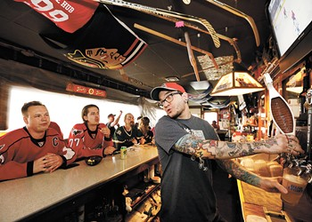 The Hub Tavern is a Spokane hotspot for NHL games, and a North Monroe gem all year