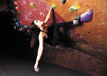 """Gonzaga's Hannah Tolson's """"two left feet"""" didn't keep her from becoming a world-class climber"""