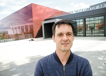 The new WSU art museum is designed to inspire and challenge visitors