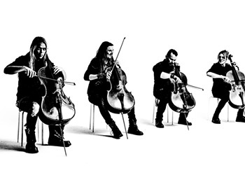 Finnish cello group Apocalyptica tackles the Metallica canon in a whole new way