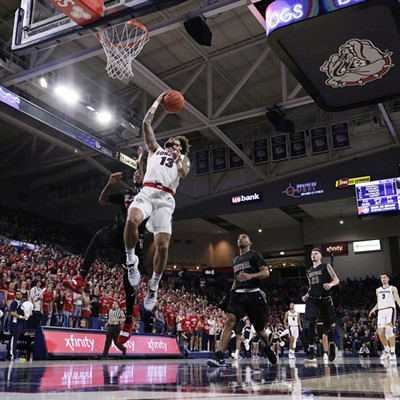 Central Washington vs. Gonzaga Men's Basketball Exhibition Game