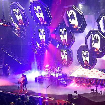 KISS at Spokane Arena, Feb. 4, 2019