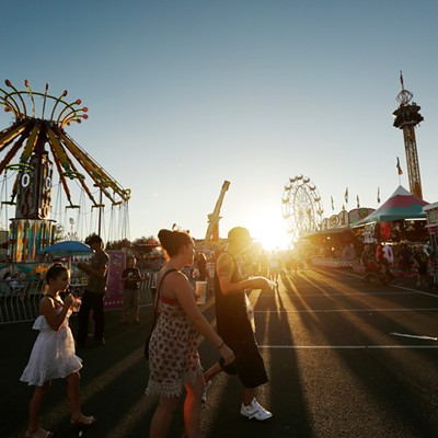 Opening Couple Of Days At The Spokane County Interstate Fair