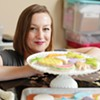 Whimsical edible art, baked and painted in a North Idaho kitchen