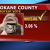 "The ""protest vote"" for president was three times higher in Spokane County than in 2012"
