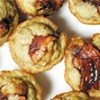 Weed-infused coconut oil meets bananas, candied bacon for mini muffin edibles