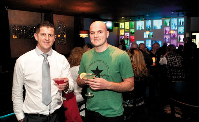 Unforgiven Lounge owners Adrian (left) and Dashnim Hashani. - MEGHAN KIRK