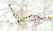Use this new map to plan your bike commute