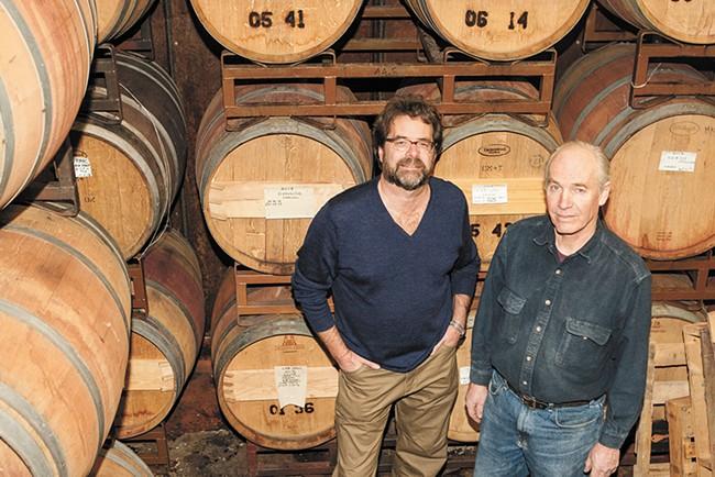 V du V owners John Morrow (left) and Kirk Phillips. - MEGHAN KIRK