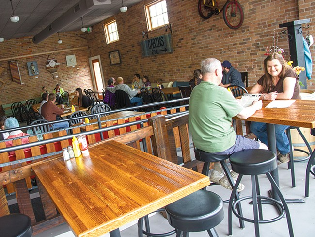 Warm up inside Lantern Tap House during Winter Beer Fest. - JENNIFER DEBARROS