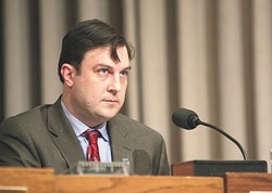 Veteran debater/City Councilman Ben Stuckart