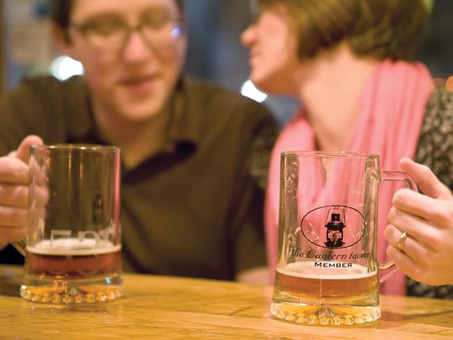 Watch your elbows at the Lantern Tavern. - STEPHEN SCHLANGE