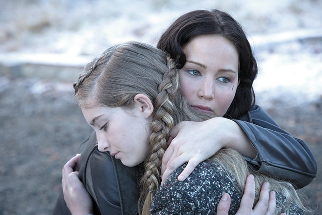 We missed you, too, Katniss.