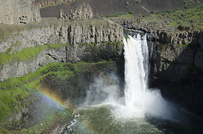 Palouse Falls, along with several other Northwest waterfalls, were featured in a national list. - JACOB JONES