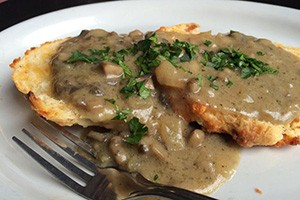 Biscuits and gravy on the breakfast menu - STELLA'S