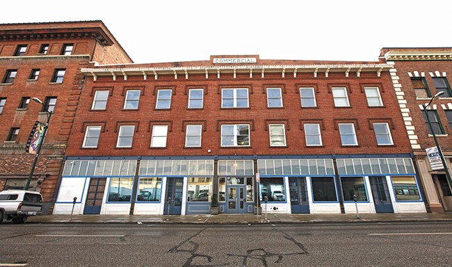 When a company led by Erick Hansen bought the Commercial Building in 2007, it kicked out 47 low-income tenants. - YOUNG KWAK