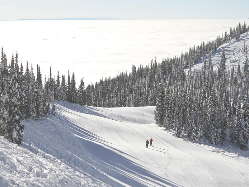Whitefish is 300 miles from downtown Spokane. - WHITEFISH MOUNTAIN RESORT