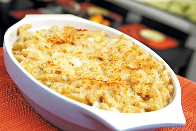 Whole wheat mac and cheese