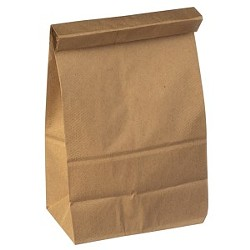"""A titular """"sack"""" used for """"sack lunches."""""""
